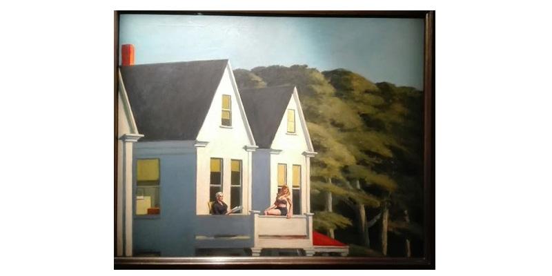Mandala paralleli - Edward Hopper